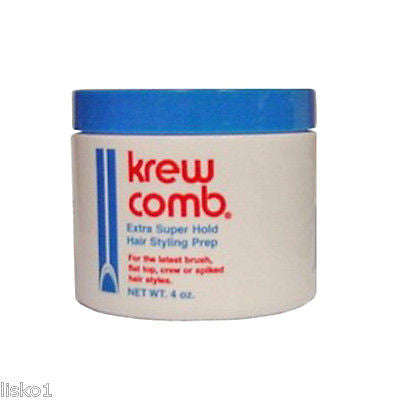 MASTER WELLCOMB KREW COMB 4 OZ. JAR,  MEN'S  SHORT STYLING X-TRA HOLD