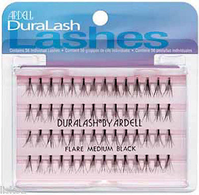 EYELASHES 4 Ardell Individual Flare Medium-Black Fashion Eyelash
