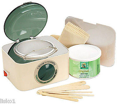 EPILATING POT WAX WARMER MINI KIT FOR HAIR REMOVAL