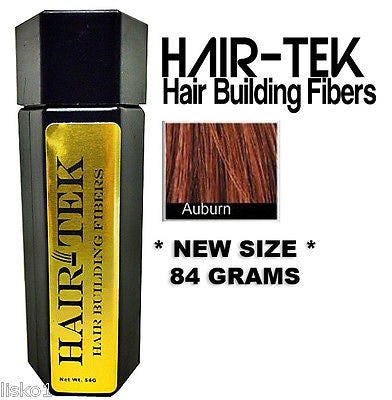 Hair Building Fibers, 1_ 84gms_ Auburn  *NEW SIZE * Hair Loss Concealer