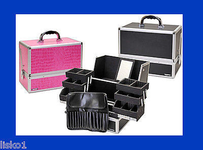 TZ CASE #AB-70BLACK HAIR STYLIST-MAKE UP-TRAIN-SALON-CAMERA-UTILITY STORAGE CASE