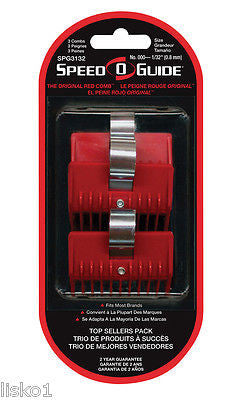 SPEED-O-GUIDE CLIPPER COMB 3-PK,  SIZE    000_1/32""