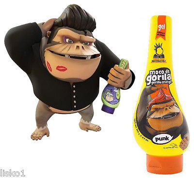SQUIZZ  Moco De Gorila Hair Gel Gorilla Snott Punk Extreme Hold Hair Gel