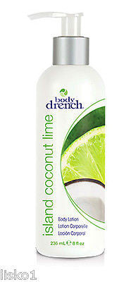 HAND & BODY LOTION BODY DRENCH ( ISLAND COCONUT LIME ) BODY LOTION , HAND LOTION  8- OZ.