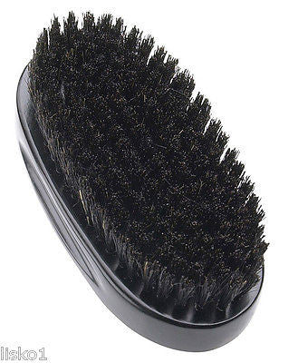 "HAIR BRUSH DIANE PROFESSIONAL  #8167_9-ROW 5""OVAL SOFT BOAR BRISTLE  ALL WOOD HAIR BRUSH"