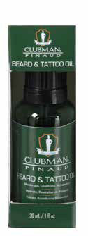 Clubman Beard & Tattoo Oil 1oz