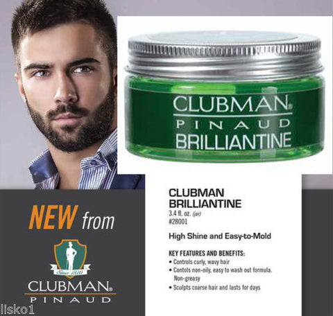 Clubman Pinaud Brilliantine  3.4 oz