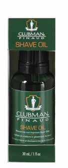 CLUBMAN SHAVE OIL  1OZ
