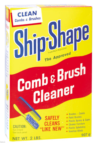 Ship-Shape Brush and Comb cleaner, All purpose Salon Barber cleaner - 2 lb. box