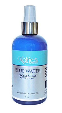XOTICS , Blue Water Facial Spray After Shave By Curtis Smith  4 oz.