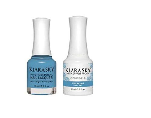 Kiara Sky - Matching Gel Polish and Nail Lacquer, Skies the Limit