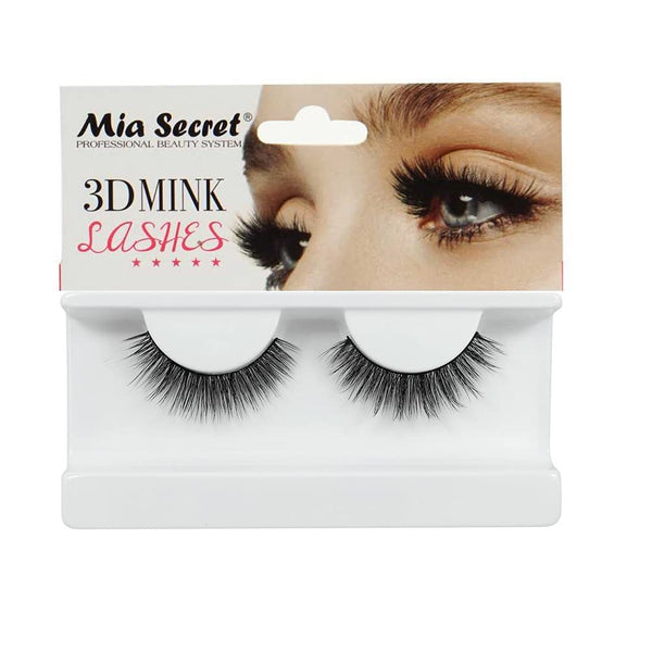 Mia Secret - Professional 3D MINK False Eyelashes, #401