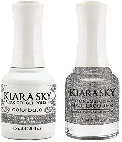 Kiara Sky - Matching Gel Polish and Nail Lacquer, Knight