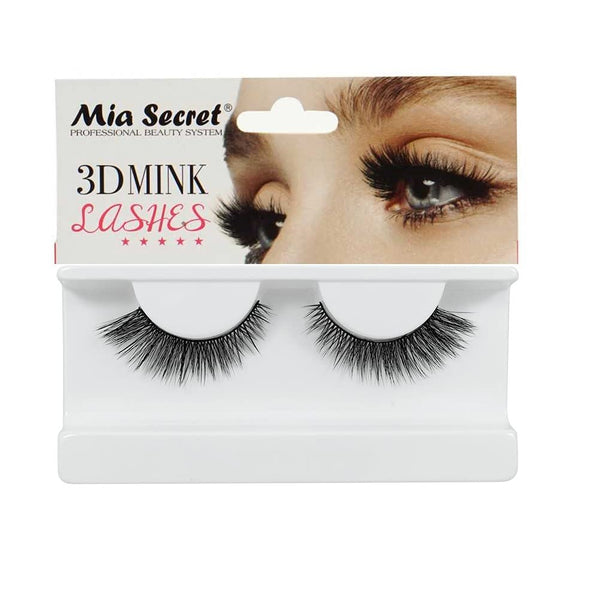 Mia Secret - Professional 3D MINK False Eyelashes, #407