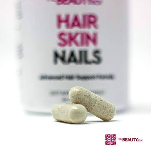 The Beauty Box Hair Skin And Nails Supplement