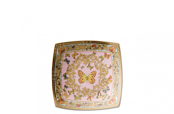 Versace - Le Jardin Butterfly Curved Dish 18 cm