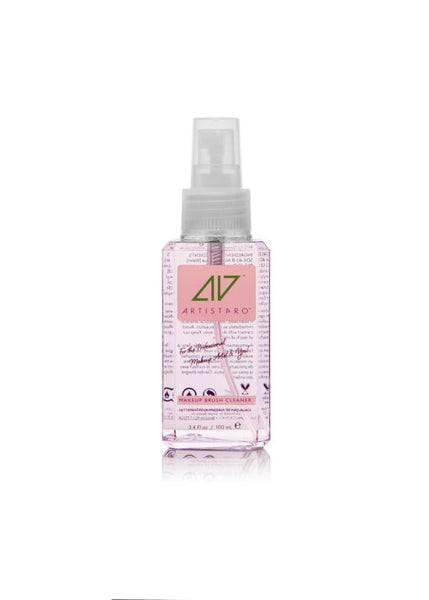 Artistpro Professional Makeup Brush Cleaner and Sanitizer - Rose Peony 3.4 oz