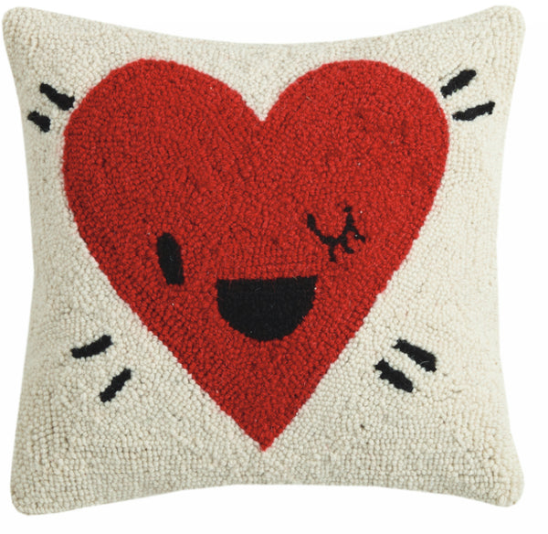 Peking Handicraft Heart Pillow