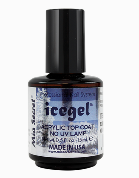 Mia Secret - Ice Gel Acrylic Top Coat 1/2 oz