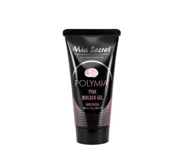 Mia Secret - Polymia Pink Builder UV. LED Gel 2 oz