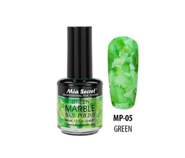 Mia Secret - Green Marble Nail Polish