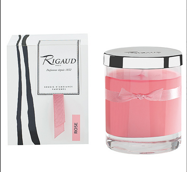 Rigaud Rose Small Candle