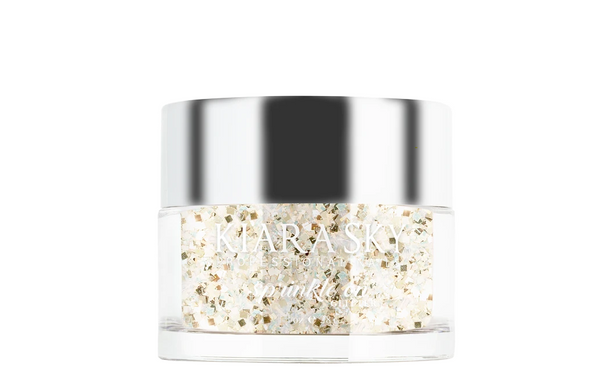 Kiara Sky - Sprinkle on Glitter Dip Powder - My Butter Half 1 oz