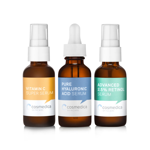 Cosmedica Trio Facial Serum Kit