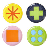 Jonathan Adler Helsinki Coasters , Set of 4