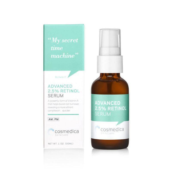 Cosmedica 2.5% Retinol Facial Serum 1 oz