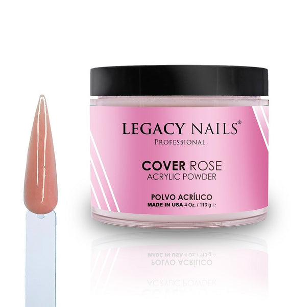 Legacy Nails Cover Rose Acrylic Powder 4 oz
