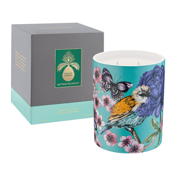 Matthew Williamson English Garden Candle 600g
