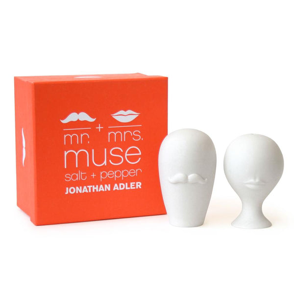 Jonathan Adler Mr. & Mrs. Muse Salt + Pepper Shakers