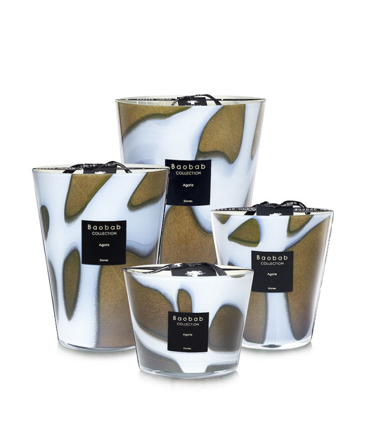 Baobab Collection - Stones Agate Max 35 Candle
