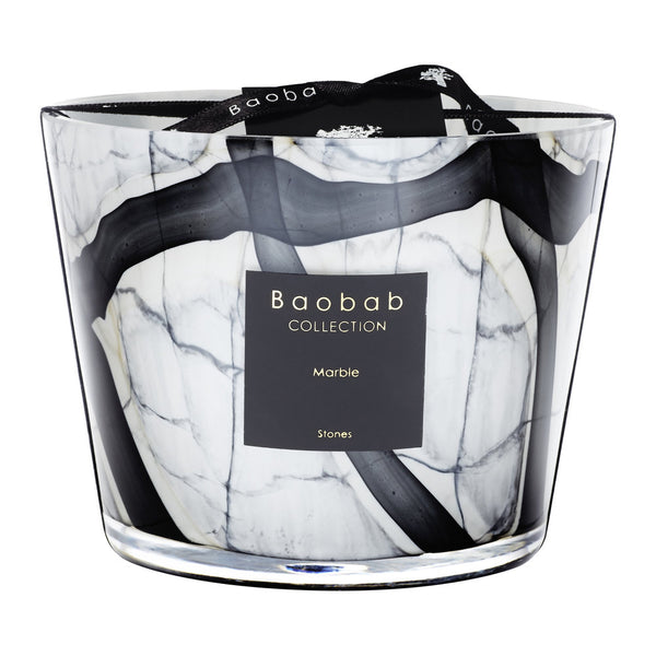 Baobab Collection - Stones Marble Max 10 Candle