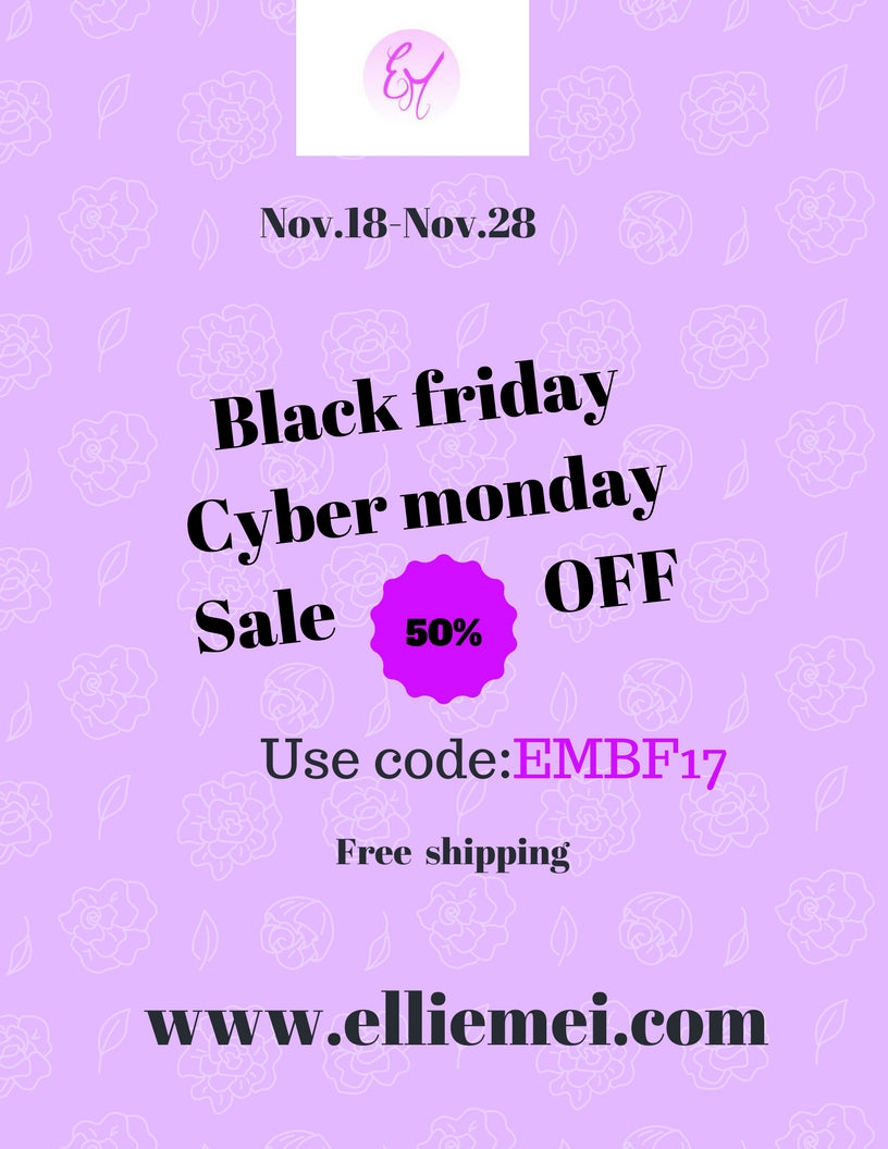 Black Friday . Cyber Monday  Sales  Event