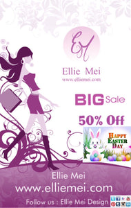 Happy  Easter .Ellie Mei Easter Big Sale .