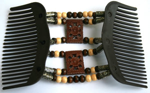 Women's  Multi-Wear  Magical Hair-Comb Butterfly Clips.Double Comb. EM-CM2