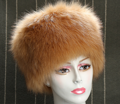 Women's Faux Fur Russian Style Winter Warm Hat