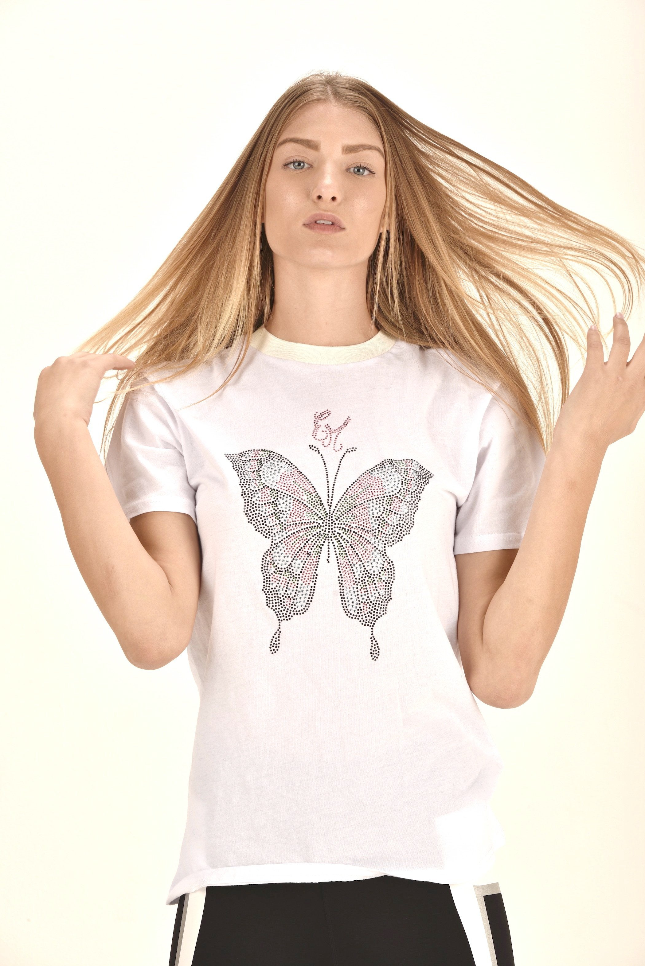 butterfly t shirt t shirts design graphic t shirts t shirt printing unique graphic t shirts  ellie mei design t shirts  logo tee women's black t shirts  gifts idea christmas gifts birthday gifts butterfly festival t shirts  fitted t shirt  white t shirts