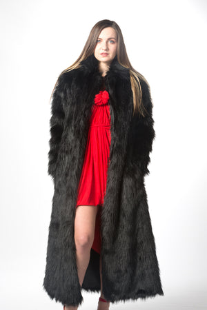 Luxury Faux Fur Coat Luxury Fashion Warm Jacket #EM18006