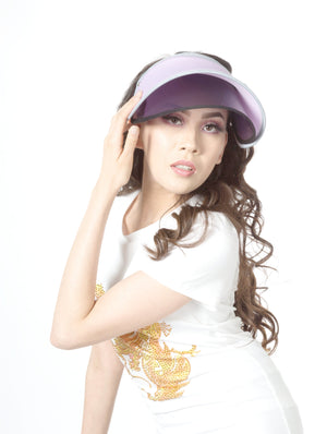 Women's Sun Hat. Sun Visor ITEM NO: EMH1811