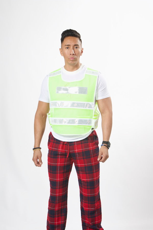 Unisex High Tech Lights Safety Vest #EMSV19006