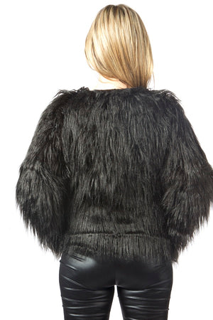 black faux fur coat black  fur coat  fluffy jacket  fur coat cheap luxury faux fur jacket luxury faux fur coat for sale  christmas sale coat  fashionista coat   black faux fur coat  black  fur coat faux fur coat cheap for sale