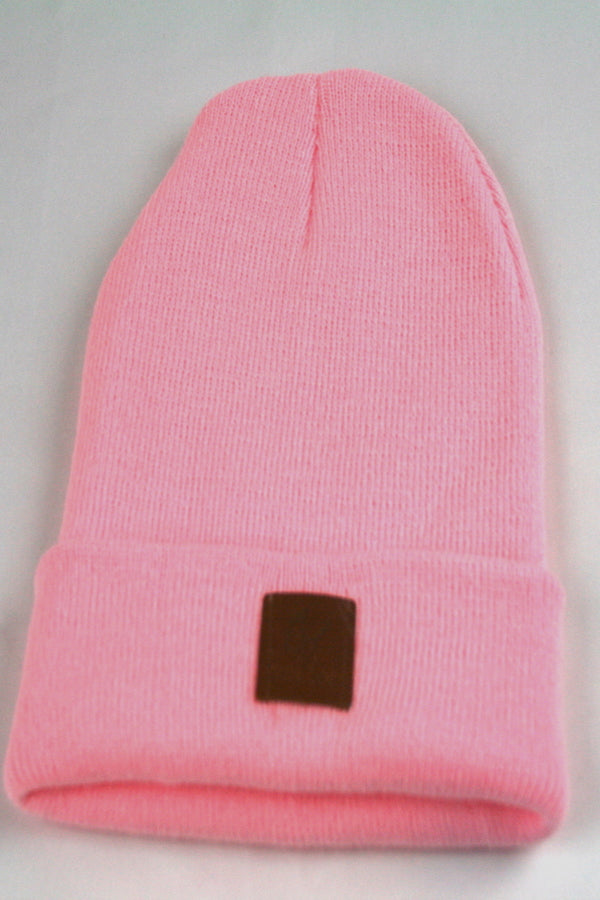 peach color beanies