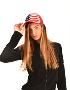 America Flag Baseball Cap. Red White and Navy Blue with Stars,Stripes Veteran Cap ITEM NO:EMWH1802 american flag hats patriotic hats american flag straw hat  patriotic hats for sale