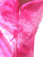 Ellie Mei Women's Pink Tie-Dye  Mini  Dress.Cover-up KHL-EM128
