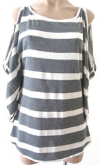 Ellie Mei Women's Striped Cashmere Cover-up KHL-EM41Striped