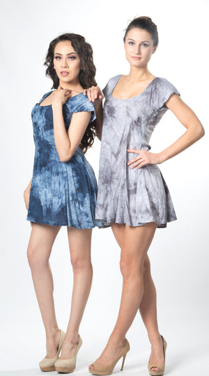 Ellie Mei Girl's  Tie-Dye  Mini  Dress. Girls Cocktail dress  KHL-EM128