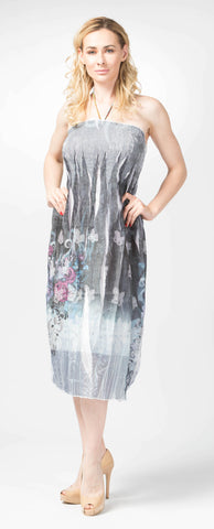 Ellie Mei Women's Floral Print Maxi Dress KHL-EM131